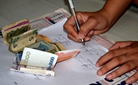 Как правильно написать расписку о возврате денег