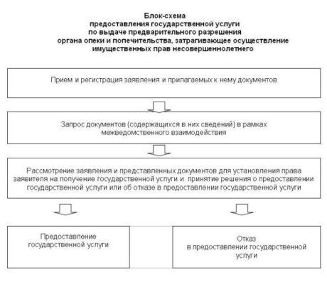 Блок-схема предоставления гос.услуг по выписке
