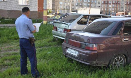 Оспаривание штрафа за парковку на газоне