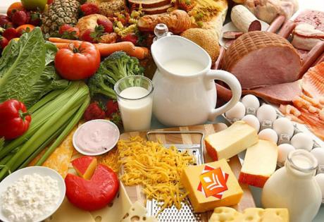 товарное соседство продуктов питания по СанПин