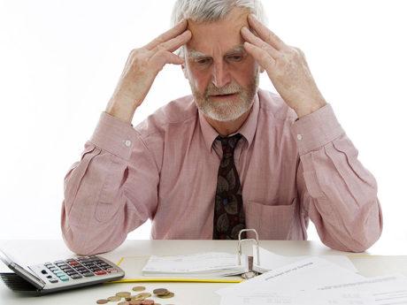 Арест пенсии приставами